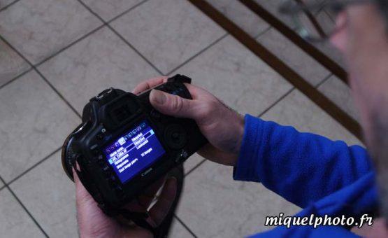 Formation réglages appareil photo