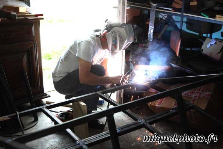 Fabrication des modules pour le championnat de France roller freeride
