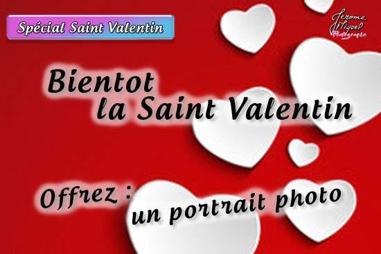 Saint Valentin : offrez une séance photo avec un photographe