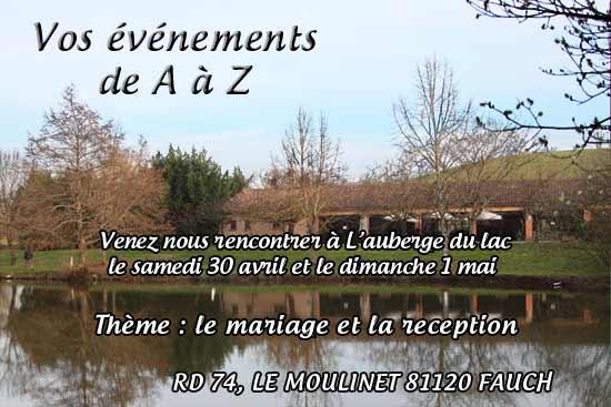 Vos évènements de A à Z