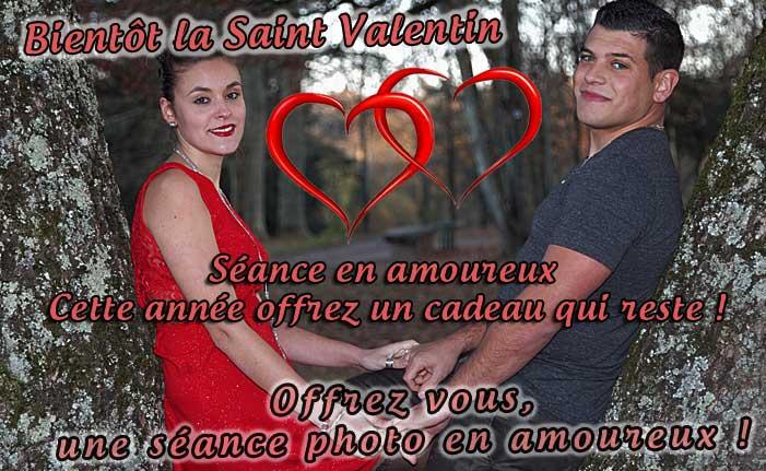 Cadeau saint valentin portrait photo
