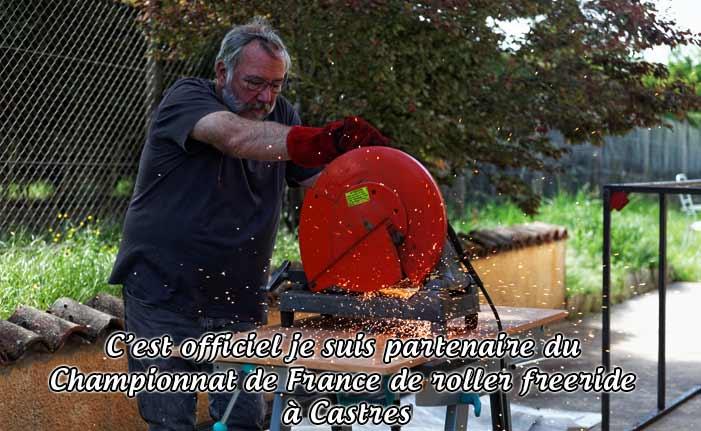 Partenariat pour le championnat de France de roller freeride à Castres