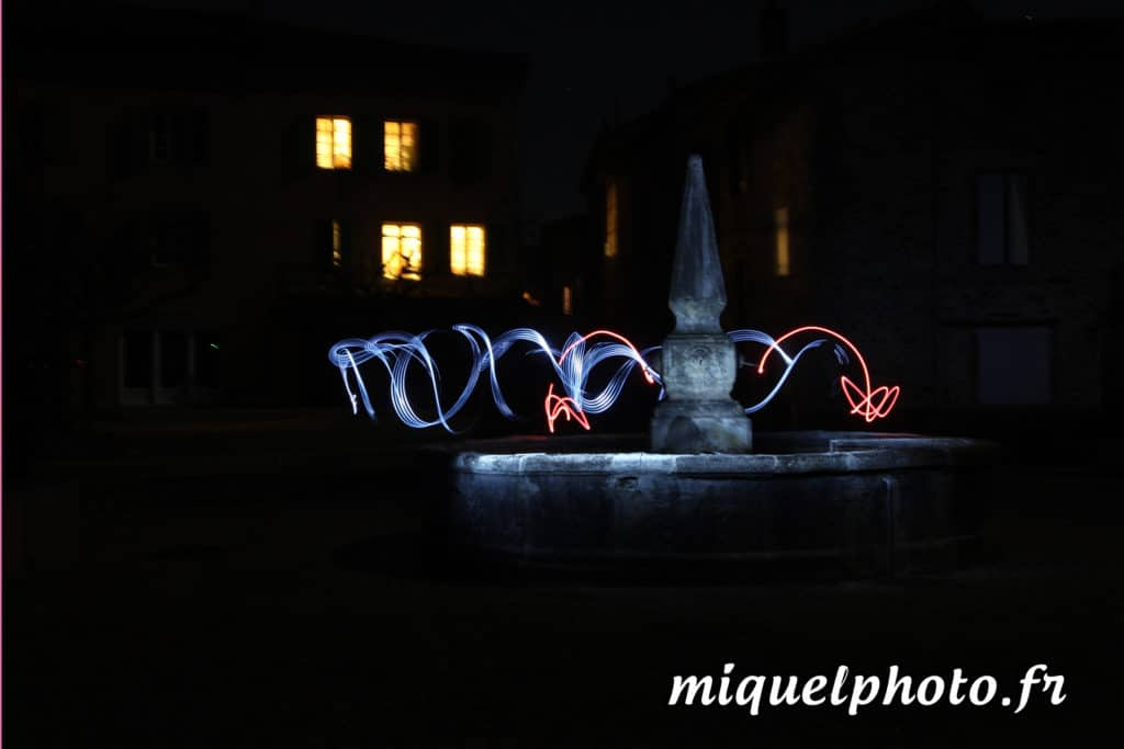 Apprendre le light painting