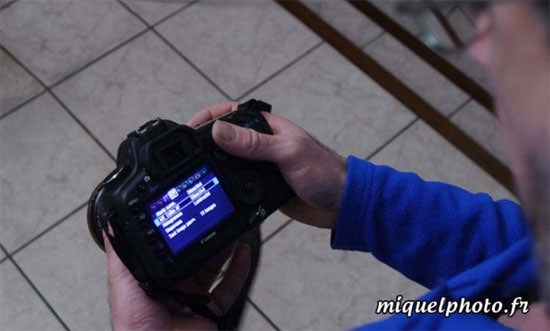 reglages-de-l'appareil-photo
