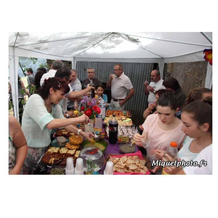 photos en famille l'apperitif